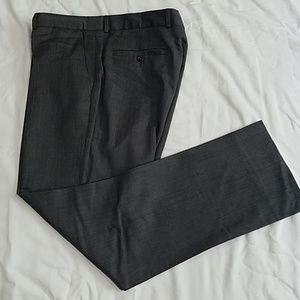 Men's dark gray dress pants